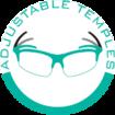 Einstellbare Brillenbügel